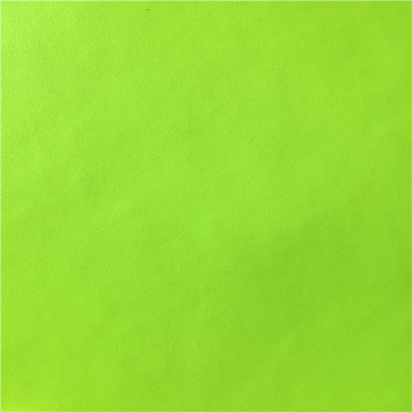 1.2 mm olive green color pvc bag leather with nonwoven fabric made in Jiangyin