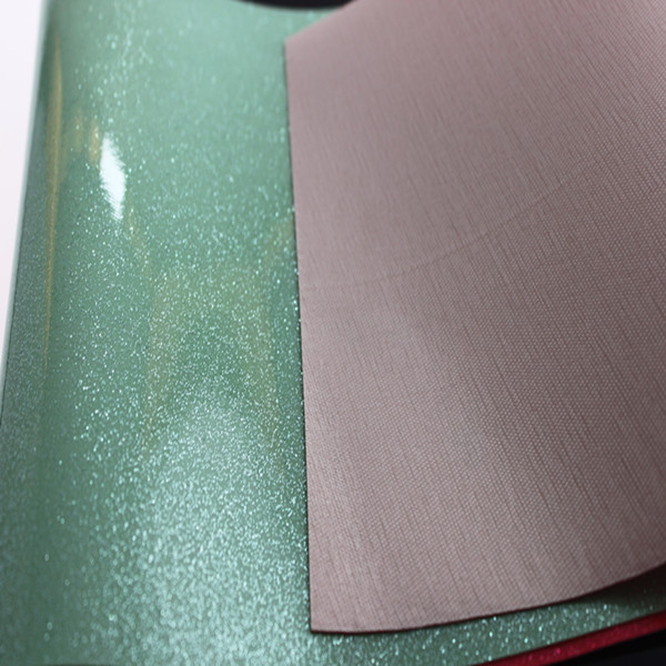 1.1 mm pvc artificial leather for bag with brushed backing made in Jiangyin