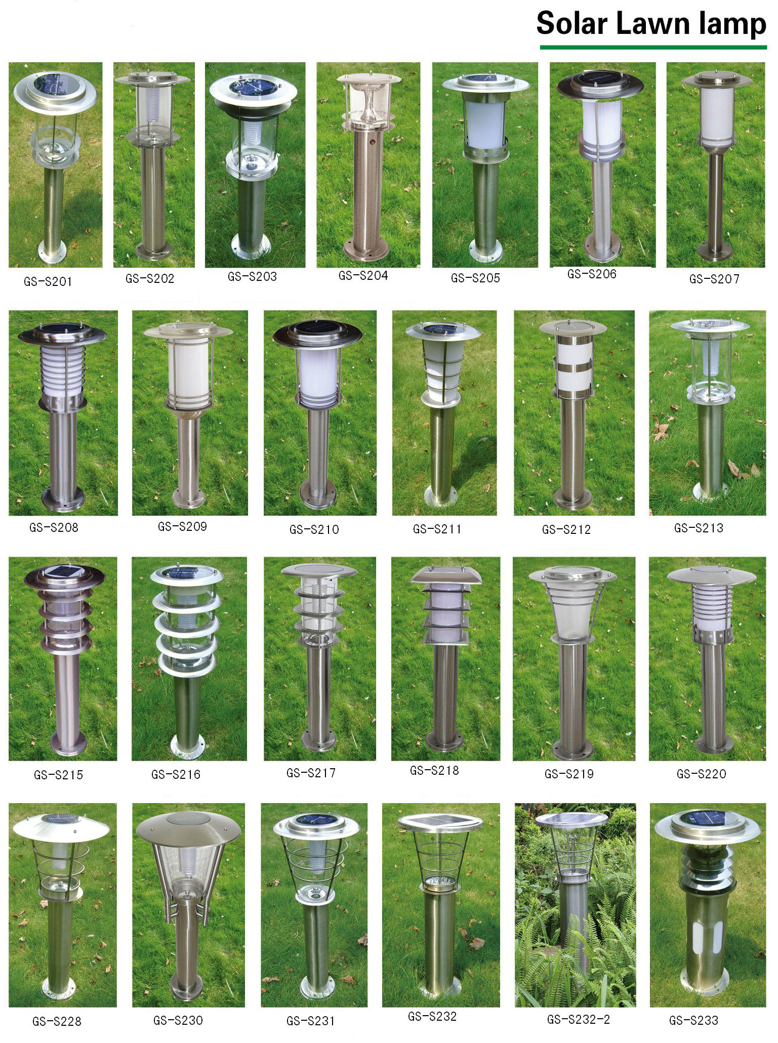 outdoor Landscape light solar Led lawn lamp/light in  yard,parth,garden,street,statium