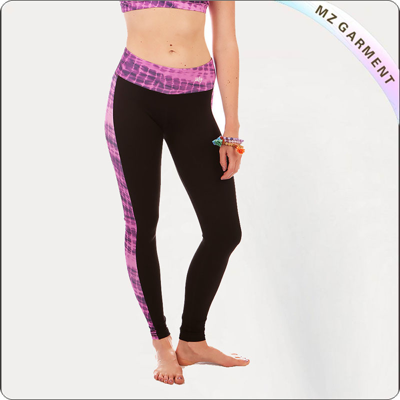 Women Fushia Yoga Leggings