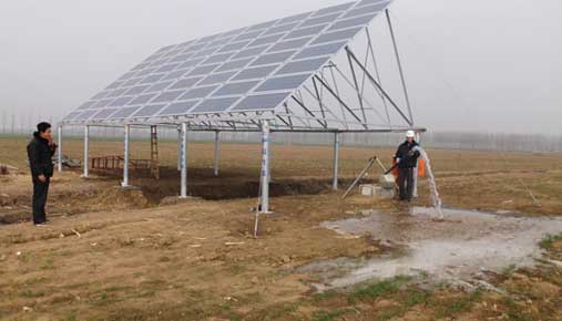 High quality DC submersible solar water pump system supplier Chinese manufacturer