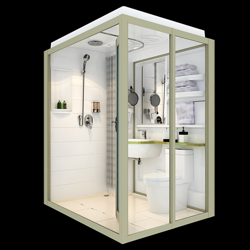 Home remodelling bathroom pods