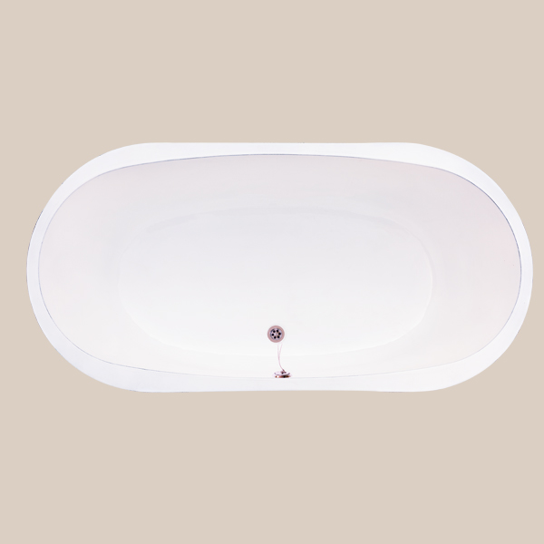Built-in cast iron bathtub JALI