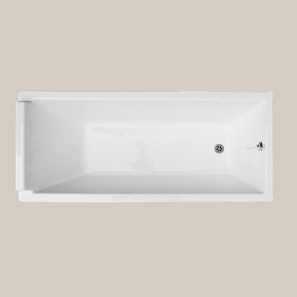 Built-in cast iron bathtub ATLAS