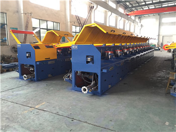 Straight type high carbon steel wire drawing machine