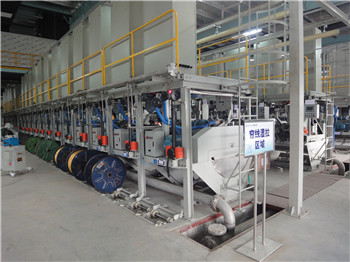 LT series wet wire/brassing wire drawing machine
