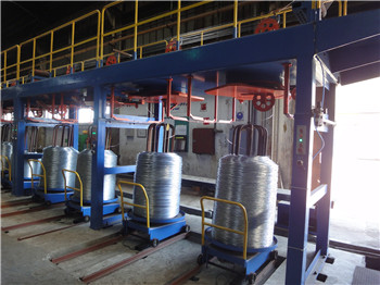 inverted patten take-up machine,galvanized wire take-up machine