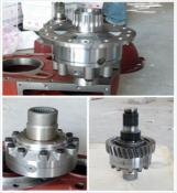 factory production center differential for heavy duty truck parts