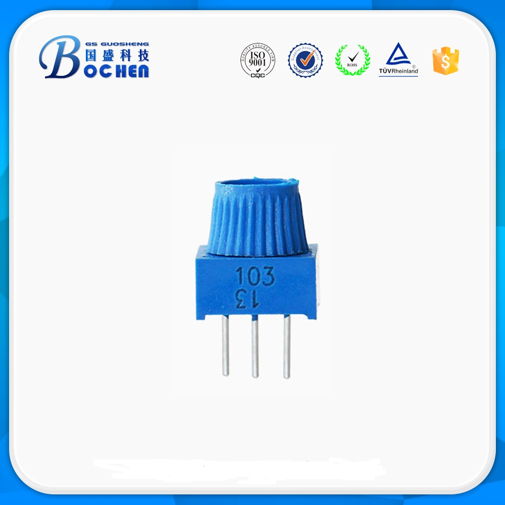3386P 3386Y 3386F Singleturn with extended shaft  cermet with cross-slot rotor trimmper potentiometer