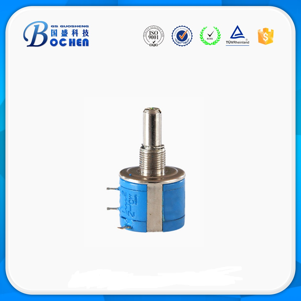 3540S  2W steel shaft and copper bushings multiturns wirewound potentiometer Precision Pots Multiturn