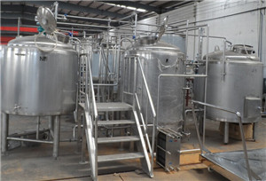 10bbl 3 vessel craft beer brew tank equipment for sale