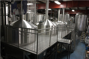 commercial craft beer produce brewery plant factory equipment line