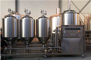 50L 100L 200L micro craft beer brew tank equipment at home