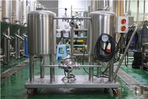 beer brewery tank CIP clean system equipment