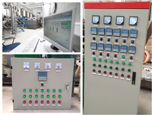 semi automatic beer brew control system  terminal power controller cabinet