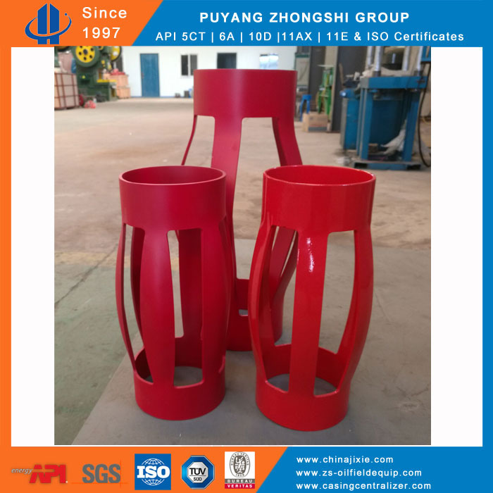 No weld single piece centralizer