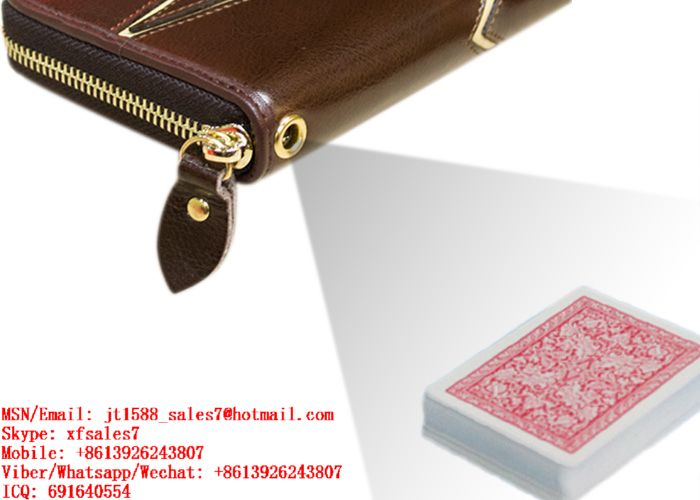 XF Invisible Ink Edges Bar-Codes Marking Playing Cards Read And Scanned By Handbag Scanner Camera For Poker Predictor