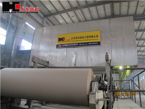 2800mm 40t/d Carton Paper Paperboard Making Machine