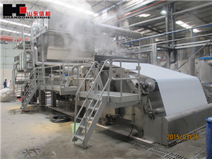 2900/150 Three Mould Cylinders Multi-dryer Paper manufacturing Machine