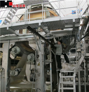 2850/350 Fourdrinier Double Cylinder Hand Towel Making Machine