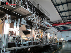 High Technical 3400/350 special paper making machine