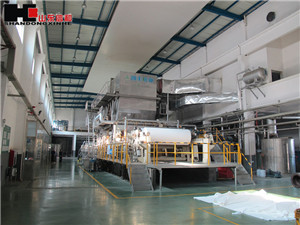 High Output 2800mm-350m/min Special Paper Machine