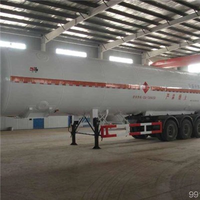 Cryogenic Liquid LNG Tank Semi-trailer Car