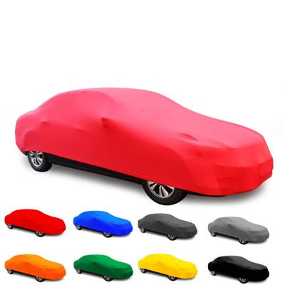 4-sides stretch Car Cover