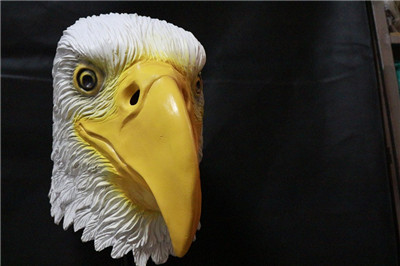 2014 Deluxe Quality Latest eagle head latex mask for wholesale