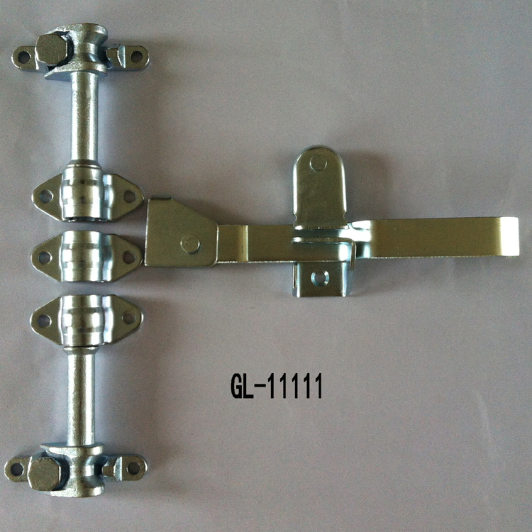 Truck Trailer rear door lock