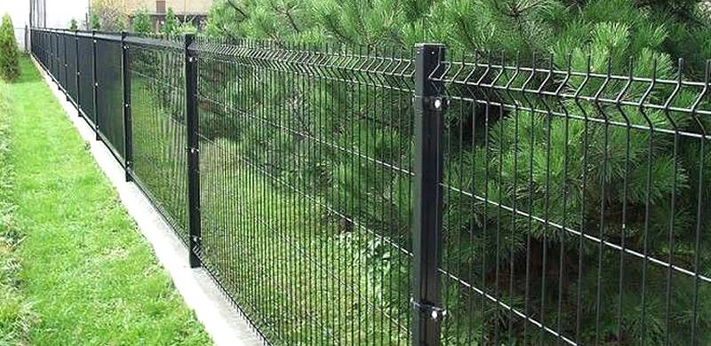 Single Welded Wire Fence
