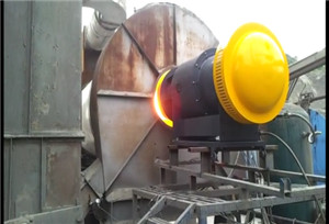 Industrial Light and heavy oil burner combustor