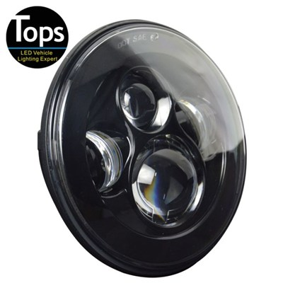 7 Inch 40W Round High Low Led Headlight For Harley