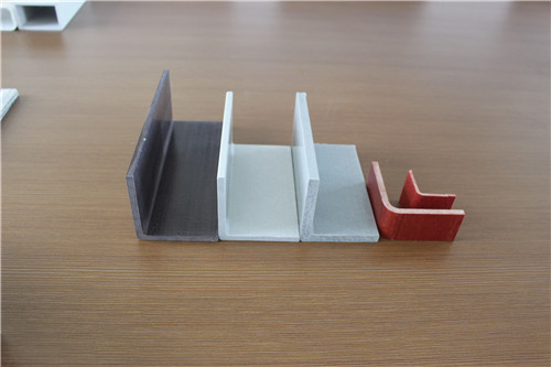 uv-resistant fiberglass polyester plastic extruded angle