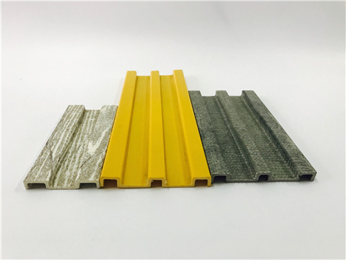 FRP pultrusion structural profile kick plate