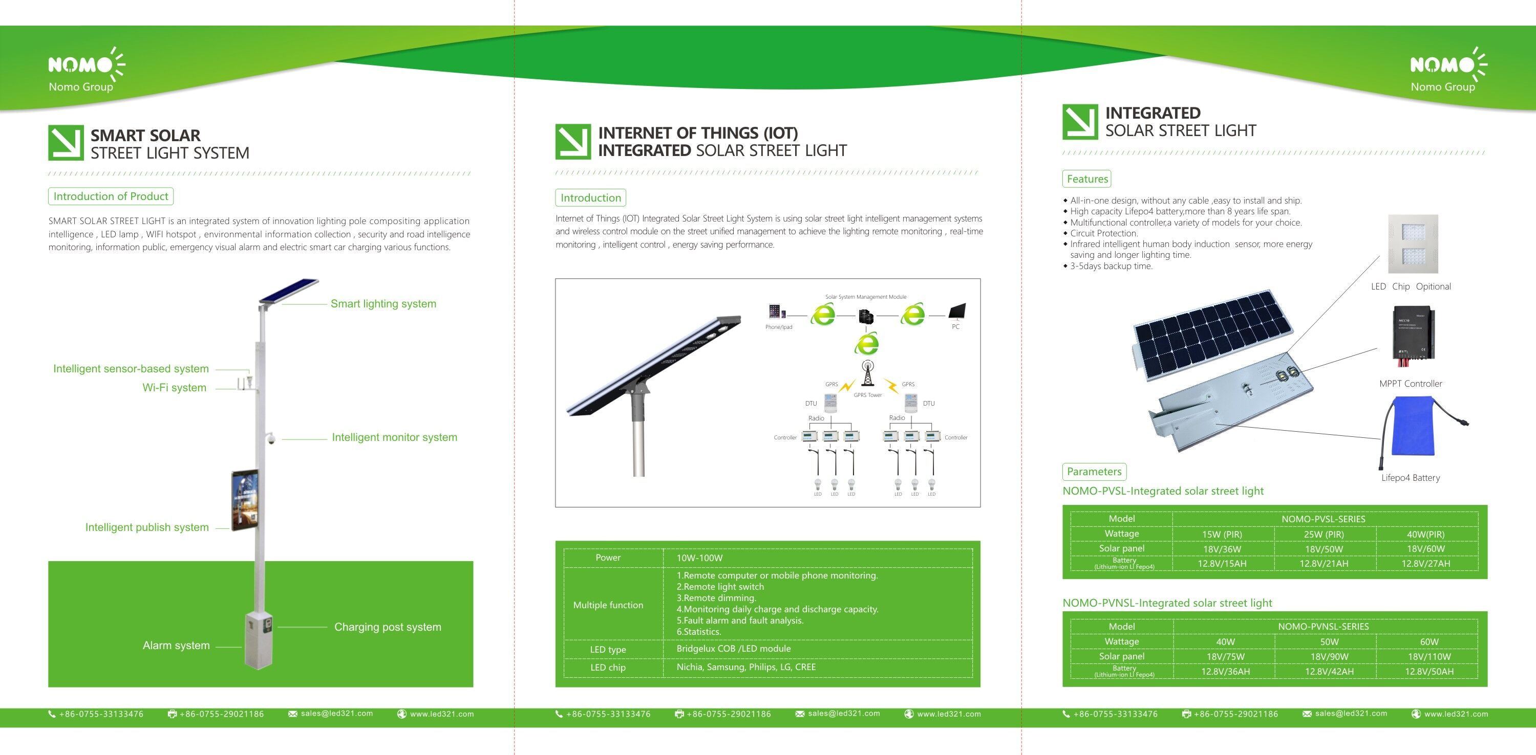 Biggest Municipal Highway Street Lighting Application System High Power Smart Integrated Solar Street Lights.