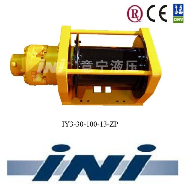 INI invention patent hydraulic free fall winches construction winch