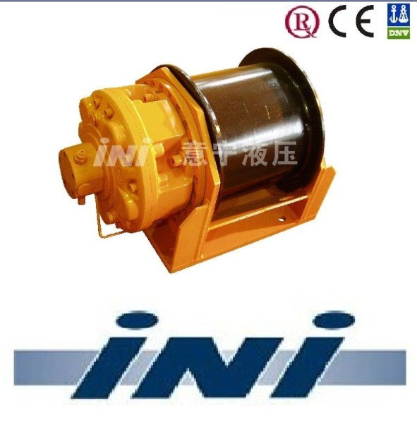 INI 3.5 ton 35 kN hydraulic winch with safefail brake,safefail brake winch