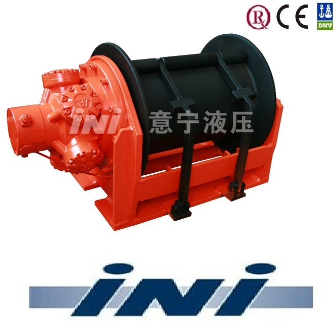 INI 20 ton 200 kN compact hydraulic winch hoisting winch