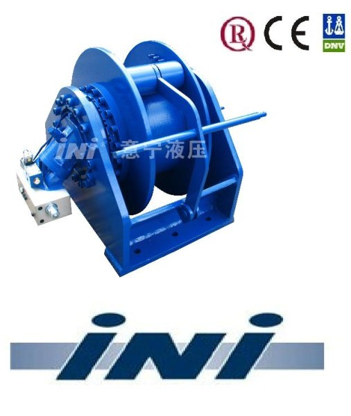IYJ hydraulic winch towing winch tugger