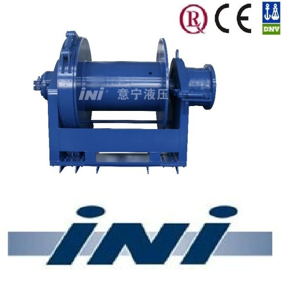 INI hydraulic marine winches offshore platform winch