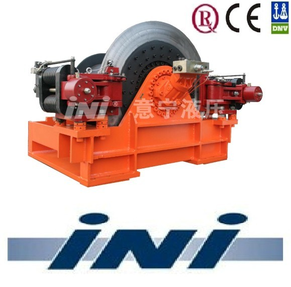 INI level wind spooler spooling gear hydraulic offshore winch