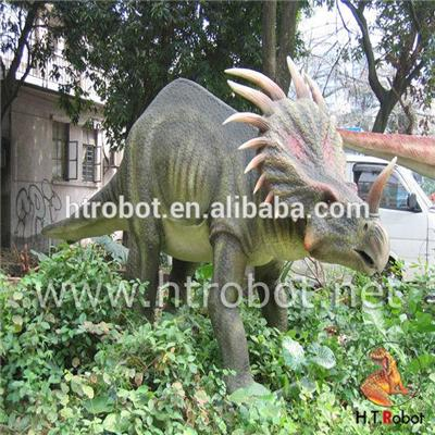 Lifelike Mechanical Simulation Dinosaur For Amusement Park