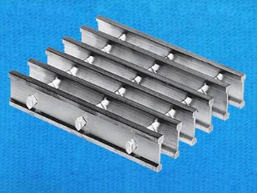Swage-locked Grating - AlumiSwage-locked Grating - Aluminum Permanent Structurenum Permanent Structure