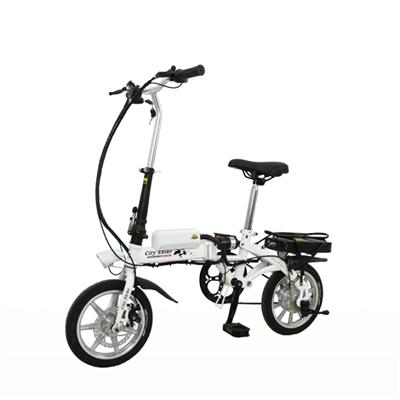 14 Inch Magnesium Integrated Wheel Small Folding Electric Bike