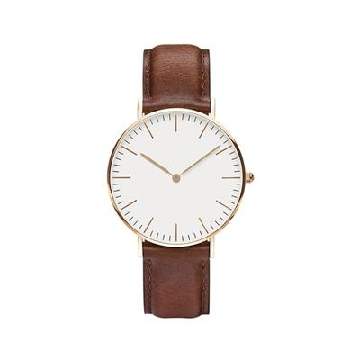 Sapphire Crystal Leather Band Japan Movt Quartz Watch Price