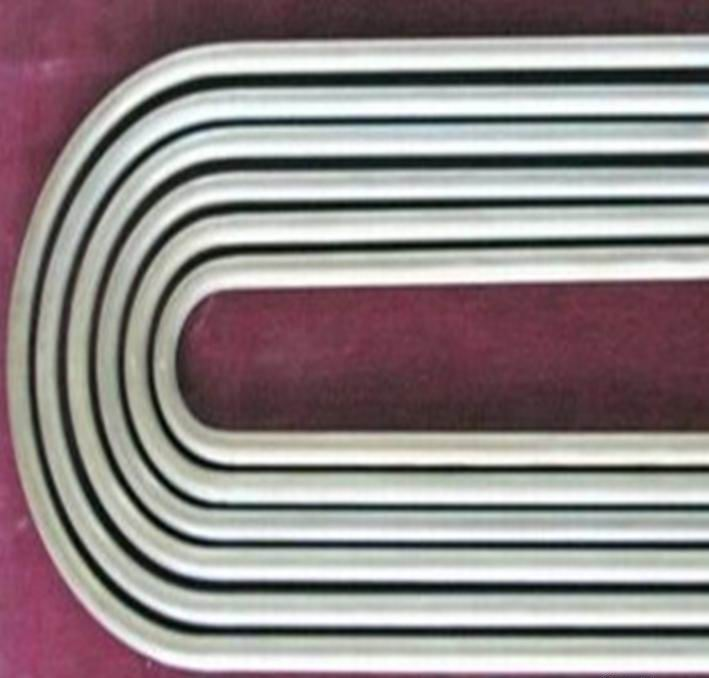 Stress Relieved U Bend Pipe ASTM A213 TP304 Industrial Heat Exchanger Tubes