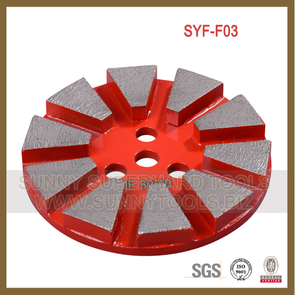 diamond concrete grinding disc cup wheel for grinder machine