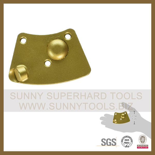 PCD Diamond epoxy coating removal tools floor scraper for surface grinding machine