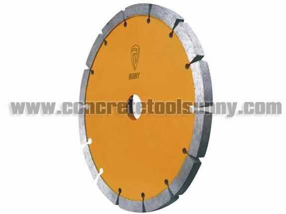 Diamond Tuck point milling saw blade for concrete